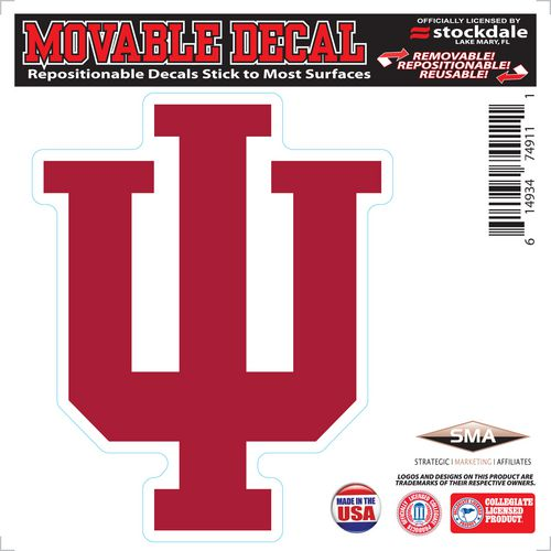 Stockdale Indiana University Movable Decal