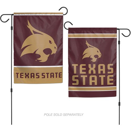 WinCraft Texas State University 2-Sided Garden Flag