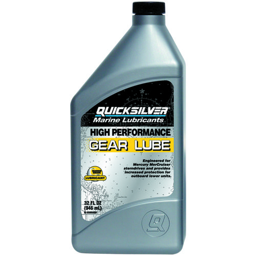 Quicksilver 1 qt. High Performance SAE 90 Gear Lube