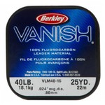Berkley® Vanish® 25-Yard 100% Fluorocarbon Leader - view number 1