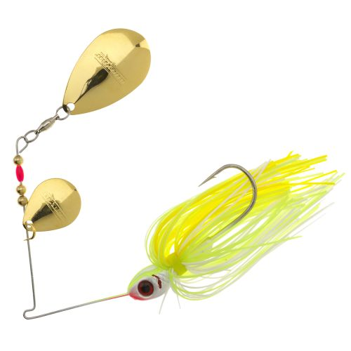 Display product reviews for BOOYAH 3/8 oz Double-Colorado Blade Spinnerbait