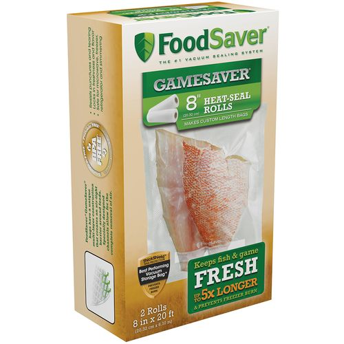 FoodSaver GameSaver® 8' x 20' Vacuum Packaging Bag Rolls 2-Pack