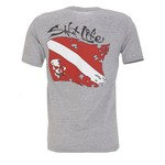 Salt Life Men's Dive Flag T-shirt