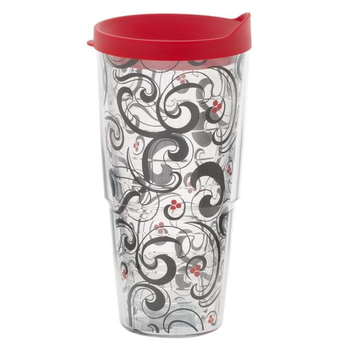 Tervis 24 oz. Berry Swirl Wrap Tumbler with Lid