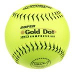 "Worth Gold Dot 12"" Adult Slowpitch Softball"