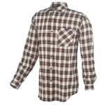 Carhartt Men's Long Sleeve Flannel Plaid Shirt