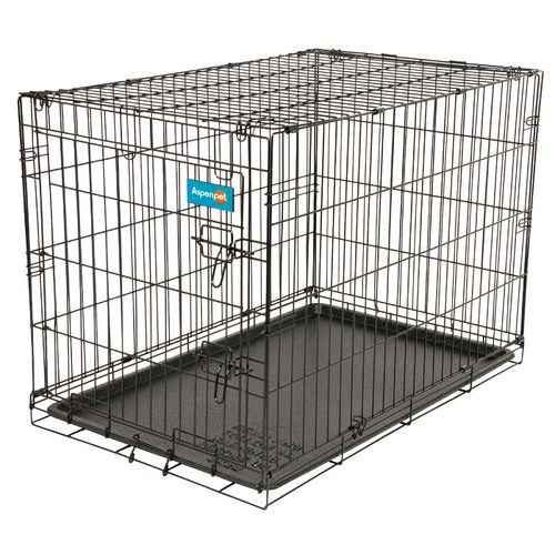 "Image for Aspen Pet Medium Home Training 34"" Wire Kennel from Academy"