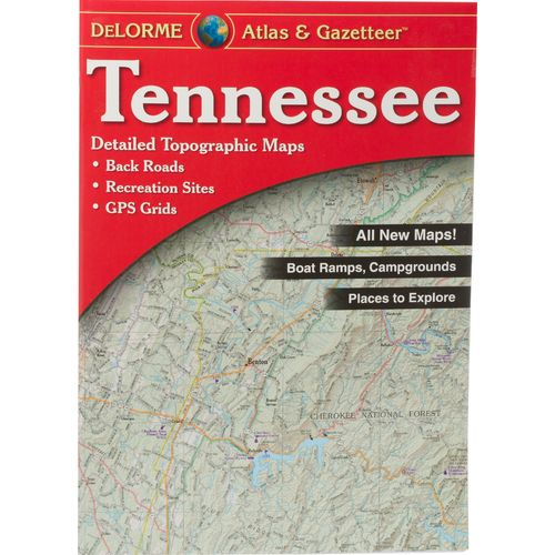 DeLorme Tennessee Atlas and Gazetteer