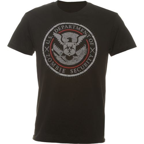 Adults  Department of Zombie Security T-shirt