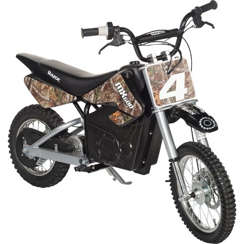 Display product reviews for Razor® Adults' Dirt Rocket MX500 Camo Electric Dirt Bike