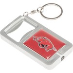 Stockdale NCAA Keychain Bottle Opener and Flashlight
