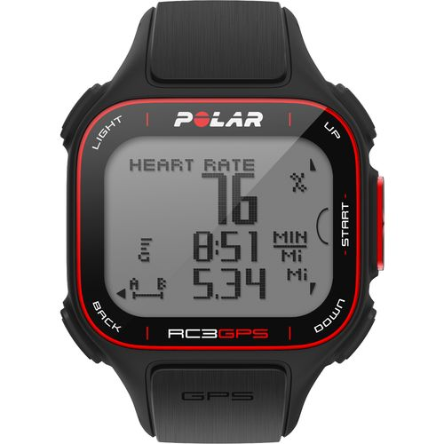 Polar Men's RC3 GPS Watch with Heart Monitor