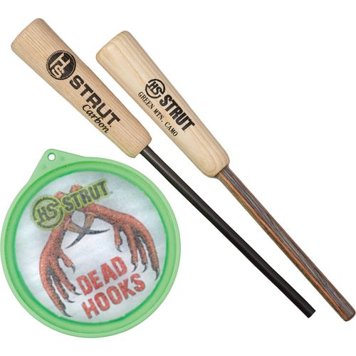 Hunter's Specialties® HS Strut Dead Hooks Glass Pan Turkey Call