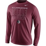 Nike Adult's Florida State Seminoles Title Bound Long Sleeve T-Shirt