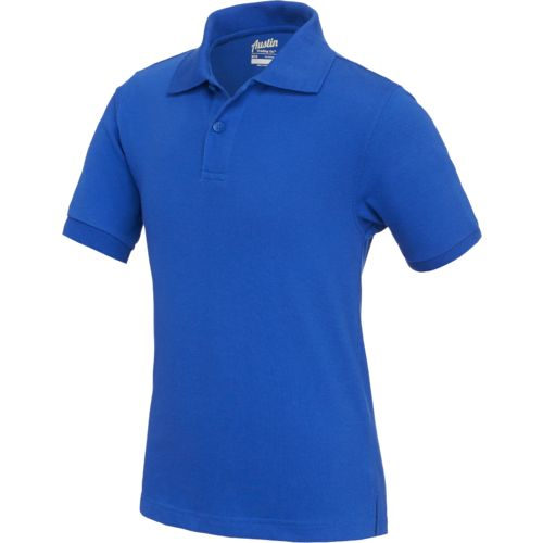 Austin Trading Co.™ Boys' Uniform Short Sleeve Piqué Polo Shirt