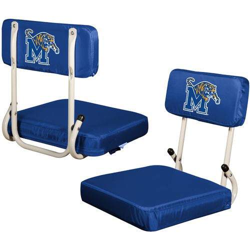 Logo™ University of Memphis Hard Back Stadium Seat