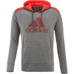 adidas Men's Ultimate Fleece Pullover Logo Hoodie