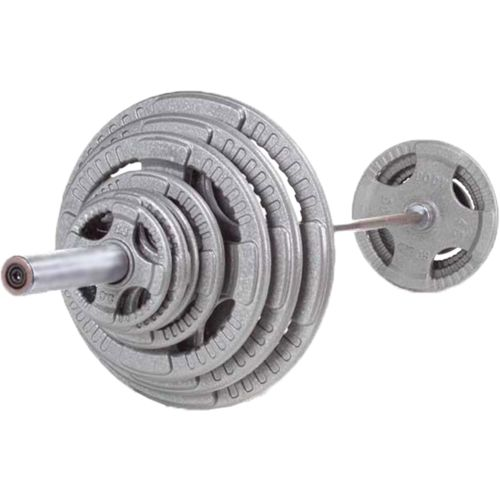 Body-Solid 400 lb. Steel Grip Olympic Plate Set