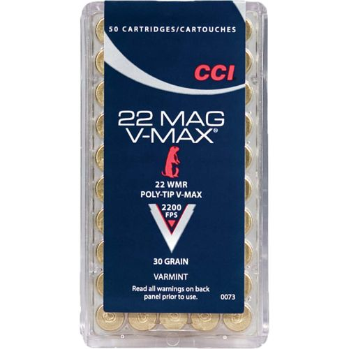 Display product reviews for CCI® V-Max .22 WMR Varmint 30-Grain Rimfire Ammunition