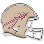 Stockdale Florida State University Chrome Metal Helmet Auto Emblem