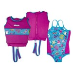Aqua-Leisure Girls' Swim School 2-Piece Swim Trainer