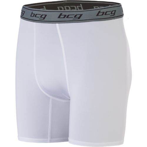 BCG Men's Basic 6 in Compression Short