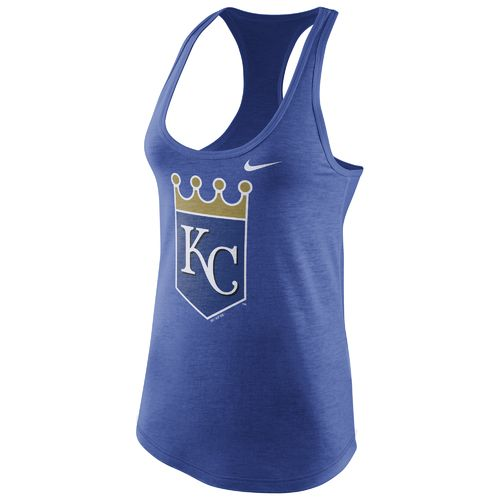 Nike Women's Kansas City Royals Triblend Tank Top - view number 1