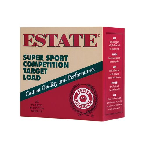Display product reviews for Estate Cartridge Super Sport Competition Target Load 12 Gauge Shotshells