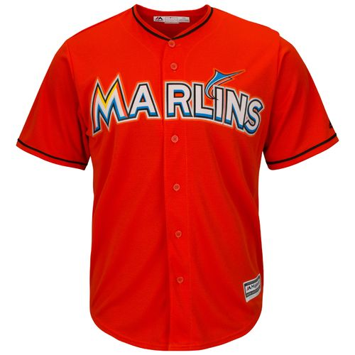 Majestic Men's Miami Marlins Cool Base® Replica Jersey - view number 1