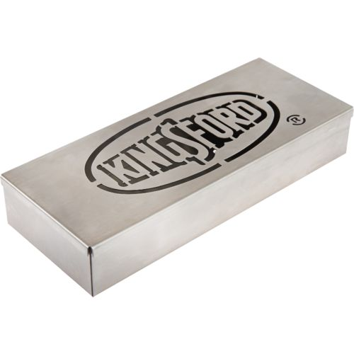 Display product reviews for Kingsford® Deluxe Stainless-Steel Smoker Box