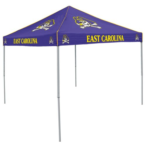 Logo East Carolina University Straight-Leg 9 ft x 9 ft Color Tent - view number 1
