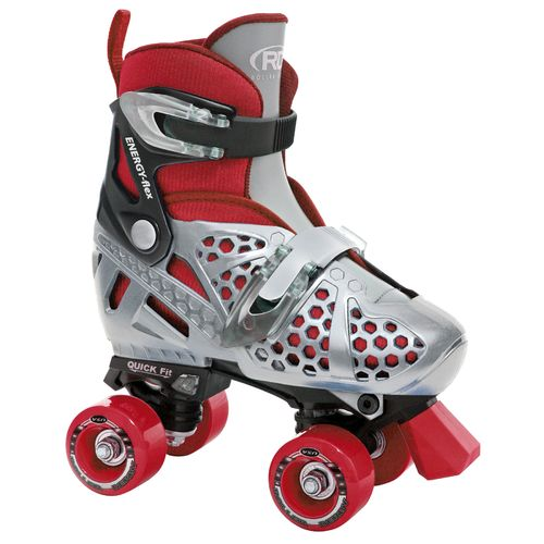 Display product reviews for Roller Derby Boys' Trac Star Adjustable Quad Skates