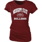 Blue 84 Juniors' Mississippi State University Triblend T-Shirt