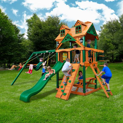 Gorilla Playsets™ Malibu™ Swing Set - view number 2