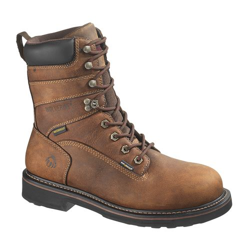 Wolverine Men's Brek DuraShocks Steel-Toe EH Work Boots - view number 1
