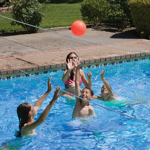 Poolmaster® Pro Rebounder Poolside Basketball/Volleyball Game Combo - view number 2
