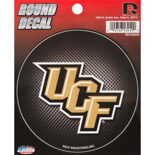 Rico University of Central Florida Round Decal