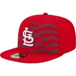 New Era Men's St. Louis Cardinals 2015 Stars and Stripes 4th of July 59FIFTY Cap