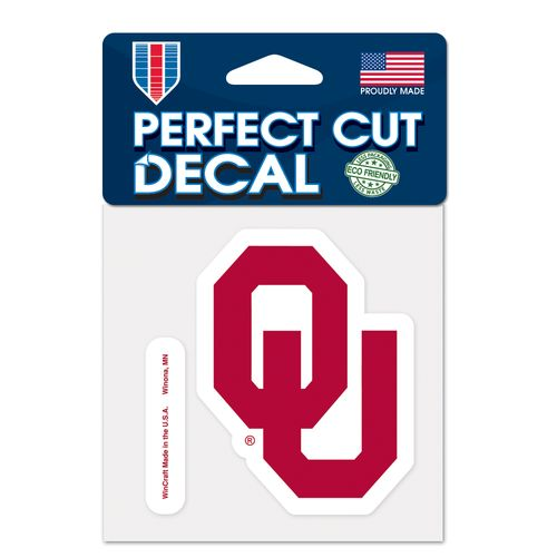 WinCraft University of Oklahoma Perfect Cut Decal - view number 1