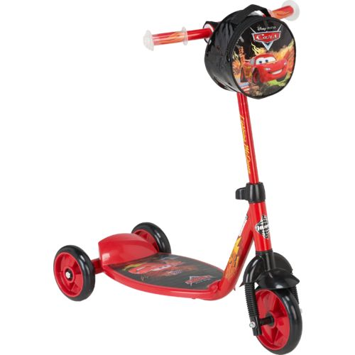 Huffy Boys' Cars 3-Wheel 6' Preschool Scooter