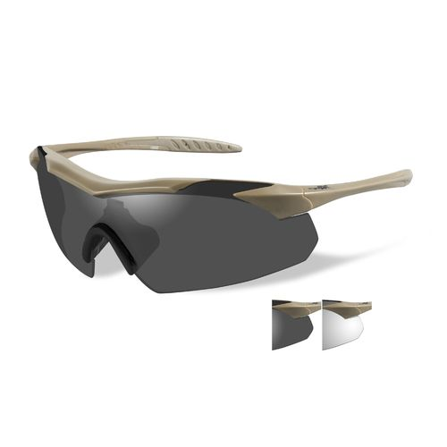 Wiley X Adults' WX Vapor Interchangeable Ballistic Eyewear