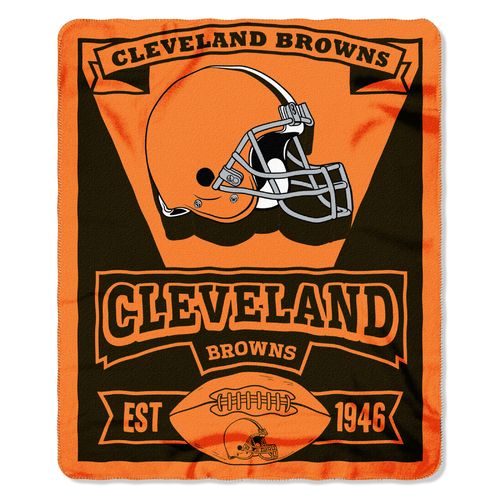 The Northwest Company Cleveland Browns Marquee Fleece Throw