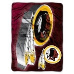 The Northwest Company Washington Redskins Bevel Micro Raschel Throw