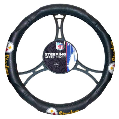 The Northwest Company Pittsburgh Steelers Steering Wheel Cover