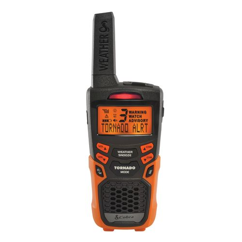 Cobra Docking Portable Weather Radio