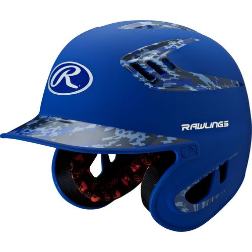 Rawlings Juniors' 2-Tone Digi Camo Batting Helmet