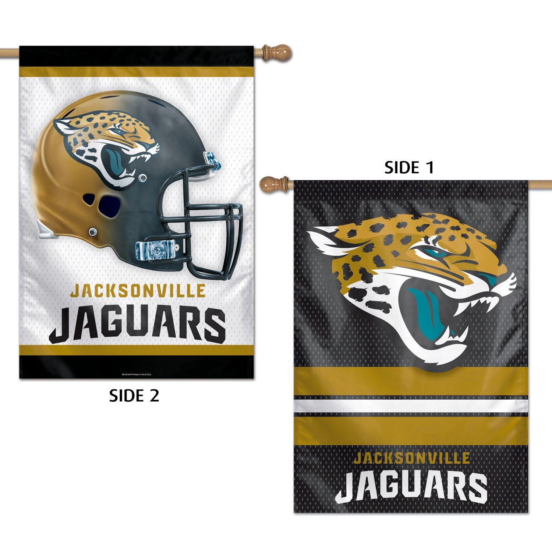 WinCraft Jacksonville Jaguars 2-Sided Vertical Flag
