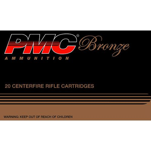 PMC Bronze .308 Win./7.62 NATO 147-Grain Centerfire Rifle Ammunition