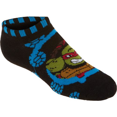 Nickelodeon Boys' TMNT No-Show Socks 6-Pack