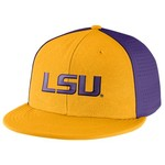 Nike Men's Louisiana State University Players True Swoosh Flex Cap